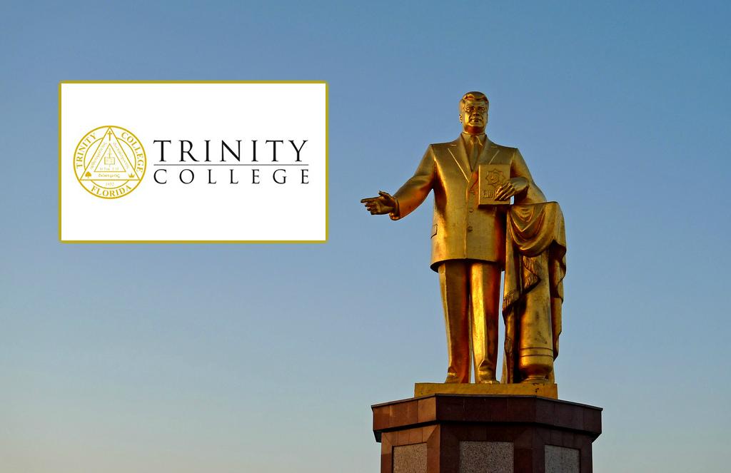 TrinityCollegeGrahamStatue