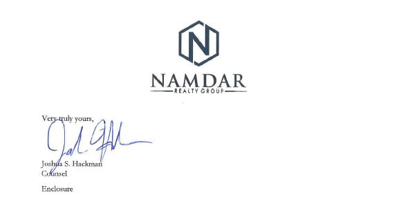 NamdarC&DFooter
