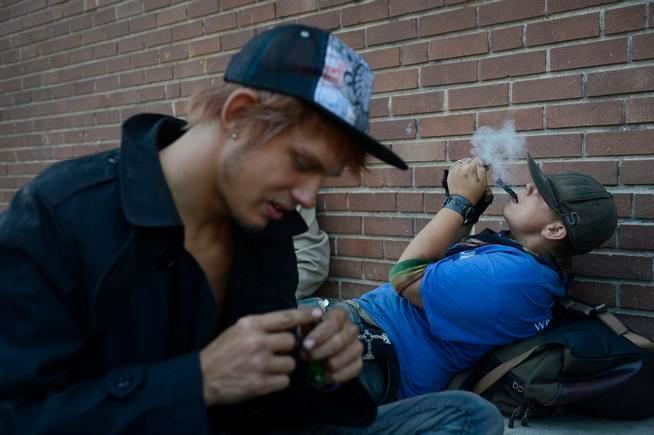 ulf High Students Smoking Pot